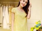 2014夏季新款泡泡袖韩版通勤大码圆领 短袖t恤 潮女式雪纺衫
