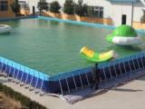 定制热卖框架游泳池生产厂家