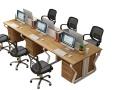 办公桌简约职员桌写字台电脑桌台式单人办公桌子书桌厂家长期生产