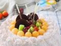 荆州生日蛋糕预定荆州区开业花篮蛋糕预定送货上门鲜花