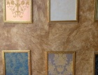 后来未来 印花液体壁纸 硅藻泥 手绘 艺术漆