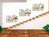 楼梯文化墙,党建企业文化墙,员工团队风采墙,励志文化墙定制