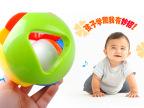 贝乐康 大款儿童益智五彩感官球铃铛球手抓球6-12个月宝宝玩具