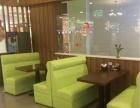 昆明餐厅卡座换皮换布 翻新 沙发套订做