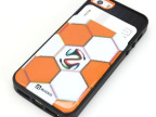 厂家独销 新款世新杯足球图案iphone5/5s插卡TPU手机壳保护套