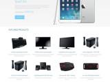 惠州电子仪器公司企业网站定制 数码电子产品生产企业网站制作