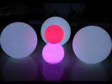 热销led发光圆球 圣诞七彩led圆球 草坪展示球 户外酒吧情景