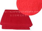 红色电热毯针刺无纺布para o布 涤纶无纺布 黑色无纺布
