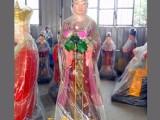 七仙女雕像 道教神像 瑶池金母佛像厂家批发 西王母神像订制
