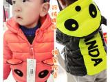 连帽秋冬童装保暖宝宝棉服儿童小中男童女童装外套加厚棉衣W837