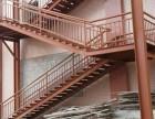 钢构彩钢,护栏楼梯制作