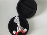 定制圆形盒装的手机耳机 3.5立体声礼品耳机