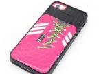 2014最新款创意足球杯iphone5S保护壳 时尚TPU插公交卡苹果手机壳