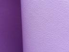 环保黄牛皮革 头层真皮 牙签纹 十字纹 紫色