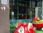 儿童乐园设备、椰子树、旋转木马、蹦蹦床、滑滑梯、独木桥、彩虹