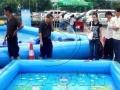 厂家直销夏季人们最爱玩的支架水池 和水滑梯