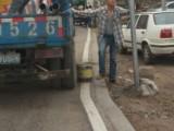 香洲道路车位划线启动,拱北前山停车场热熔划线工匠