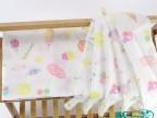 河北桥一芳婴儿纯棉印花纱布定制