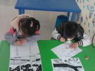 少儿学画画如何入门上虞少儿才艺培训去哪好