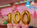 【优惠中】南通十岁生日宴满月酒百日宴门店活动布置