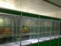 精品展示柜礼品药品玻璃展示柜台钛合金展架工厂样品柜