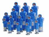 空压系统中使用的压缩空气精密过滤器,型号选择多样