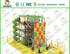 户外冒险绳网小区拓展乐园游乐场设备攀爬网架