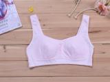 丹阳文胸厂家直销发育期纯棉少女文胸素色学生内衣少女背心