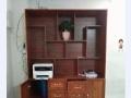 铝合金餐边柜黄花梨博古柜仿木纹展示柜储物柜
