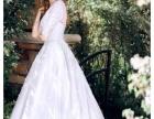 太原多拉婚纱礼服2017新款中袖唯美森系典礼婚纱