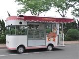 小吃车电动移动流动小吃车四轮多功能电动小吃车