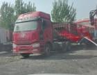 四川出售二手解放J6双驱半挂车350390马力牵引头