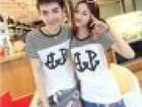 2013新款韩国女装修身裙/韩版情侣装夏季长款短袖T恤代理加盟