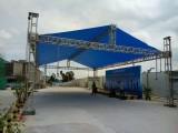 广州庆典出租桁架帐篷搭建龙门架背景墙开业庆典舞台音响灯光铁马