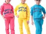 13元儿童套装新款童装 冬季儿童长袖卫衣抓绒两件套卫衣