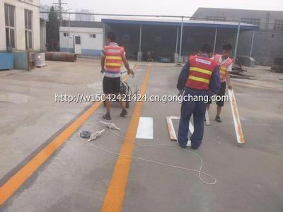 北京顺义区专业道路划线划车位线