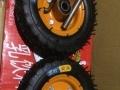 6寸充气轮橡胶轮9成新