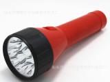 9灯led充电LED手电筒 塑料强光手电筒 9灯手电筒 充电式l