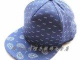 外贸原单外贸儿童棒球帽蓝色格平沿新货