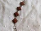金砂石镶嵌手链