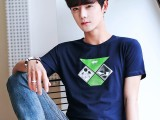4元外贸地摊男式t恤短袖韩版男装T恤打底衫低价服装批发市场