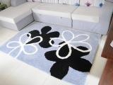 弹力丝花朵型图案系列加厚加密柔软地毯客厅卧室婚房满铺高档地毯