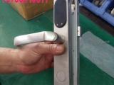 断桥铝密码锁肯德基门刷卡锁窄门智能锁塑钢门刷卡门锁