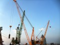 广州设备 钢结构及建材的高空吊装 起重吊装 塔吊安拆