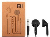 小米m1 2S 2A 小米3手机通用线控 黑白入平耳式耳机 配绵