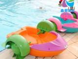 夏季水上手摇船 亲子互动水上设备 大型充气水池