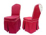 供应酒店布草、餐桌椅套、红色椅子套 聚焦美家具定做