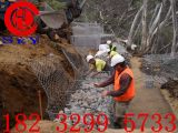 河道生态整治格宾石笼 防汛护坡铅丝石笼,建设大好河山 宏利