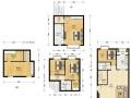 万科物业直售 精装复式 送30平米阁楼 客厅挑高4.8米