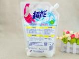 东莞厂家定制900ml洗衣液包装袋手提式自立吸嘴袋